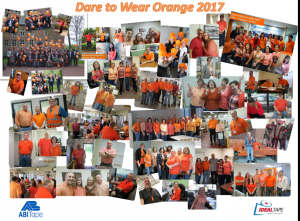 Dare to Wear Orange 2017
